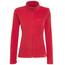 axant Nuba Fleece Jacket Women true red